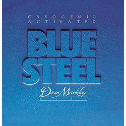Dean Markley Blue Steel Cryogenic Activated Bass Guitar Strings - 50-110, Extra Medium