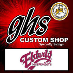 GHS Electric Lap Steel Strings - Nickel, 15-36, C6 Tuning