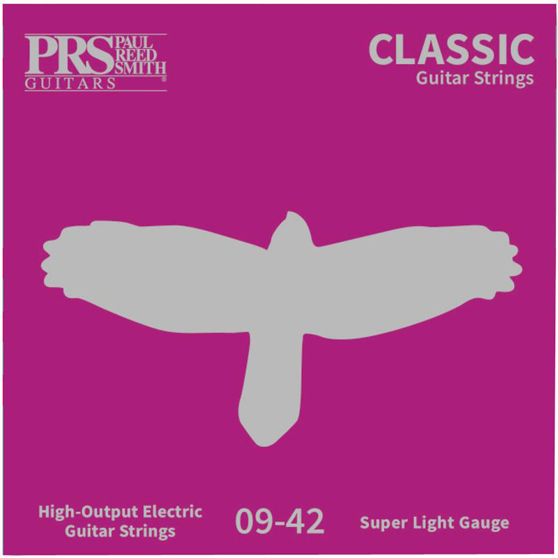 View larger image of PRS Classic Electric Guitar Strings - Super Light, 9-42