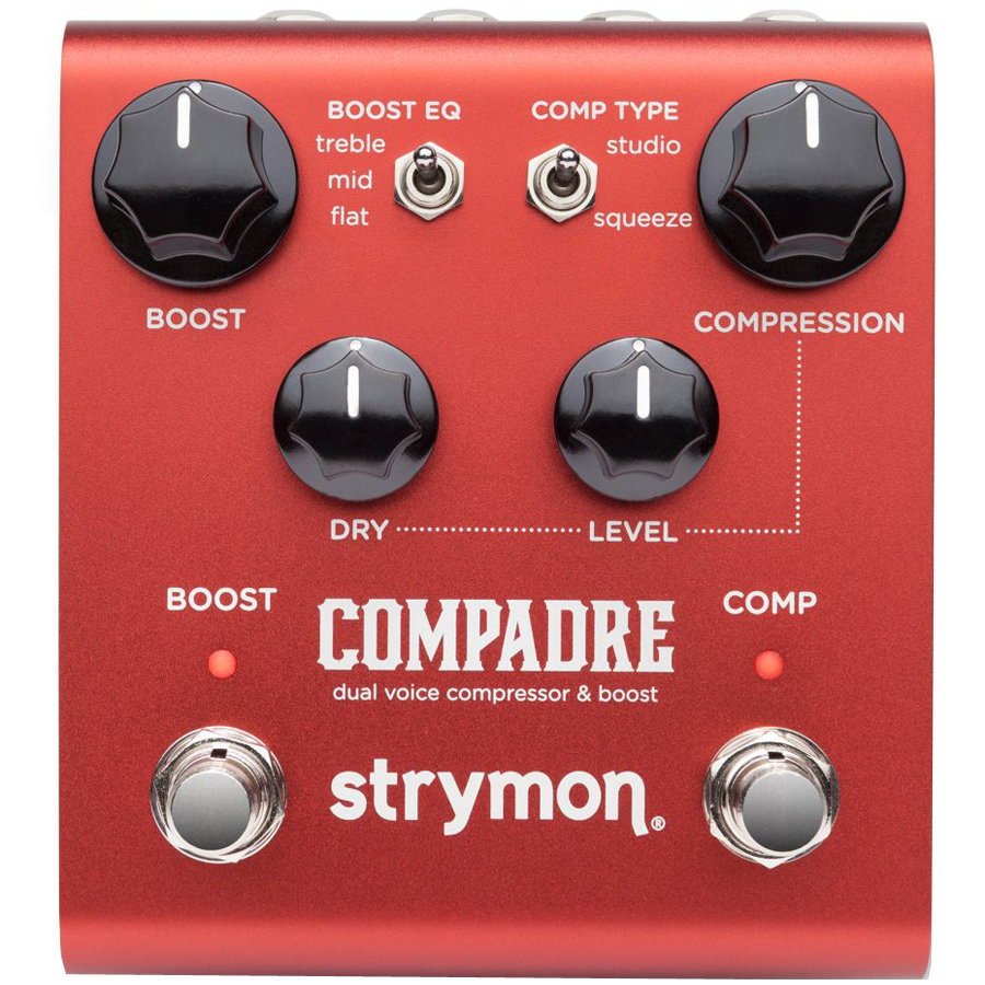 View larger image of Strymon Compadre Dual Voice Compressor/Boost Pedal