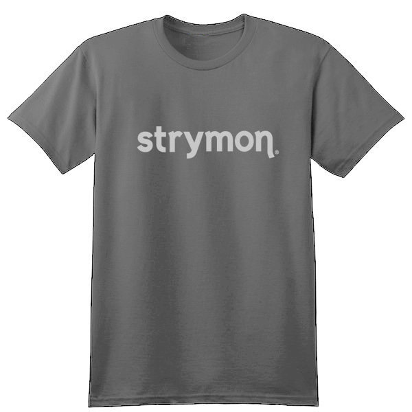 View larger image of Strymon T-Shirt - Grey, Large