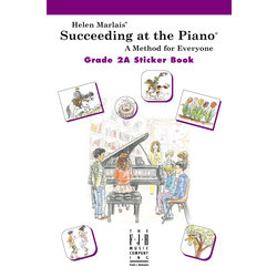 Succeeding at the Piano - Level 2A - Sticker Book