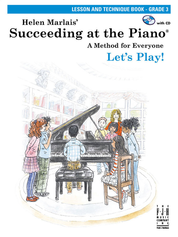 View larger image of Succeeding at the Piano - Level 3 - Lesson and Technique