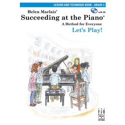 Succeeding at the Piano - Level 3 - Lesson and Technique