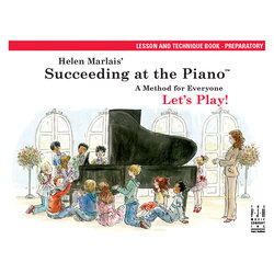 Succeeding At the Piano - Preparatory Level - Lesson and Technique Book (Book/CD)