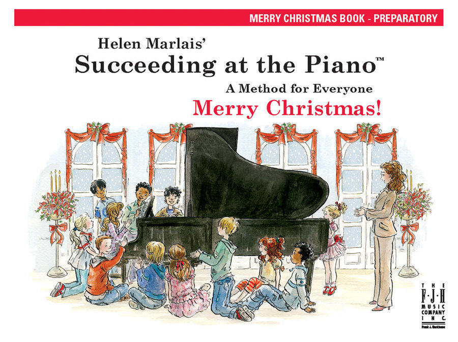 View larger image of Succeeding at the Piano - Preparatory Level - Merry Christmas Book