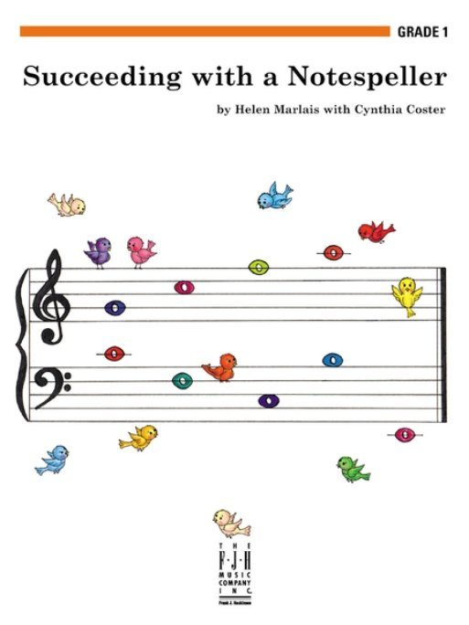 View larger image of Succeeding with a Notespeller Grade 1B (2nd Edition)