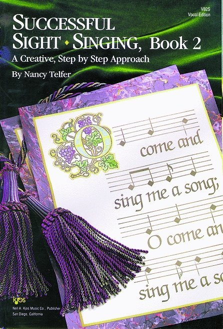 View larger image of Successful Sight Singing 2 - Student Book