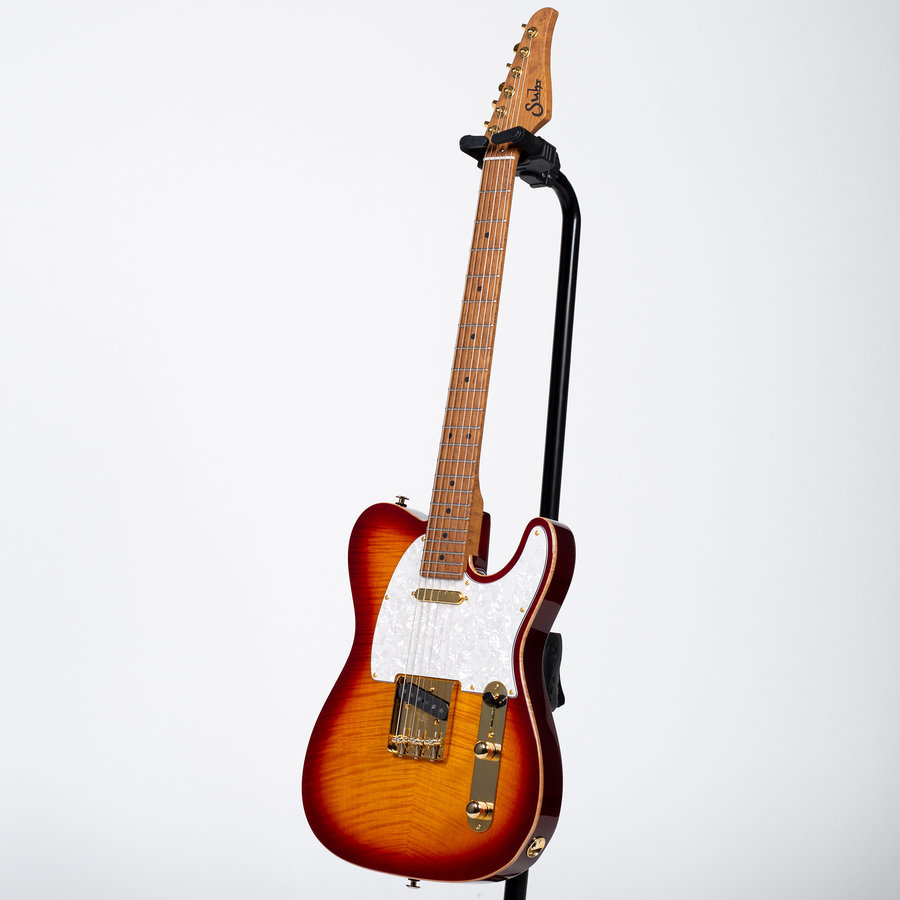 View larger image of Suhr Classic T Deluxe Electric Guitar - Aged Cherry Burst