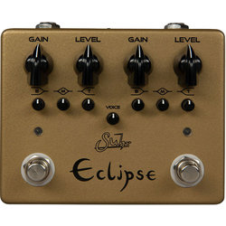 Suhr Eclipse Dual-Channel Overdrive/Distortion Pedal - Limited Edition Gold