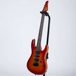 Suhr Modern Carve Top Electric Guitar - Cedar, Fireburst