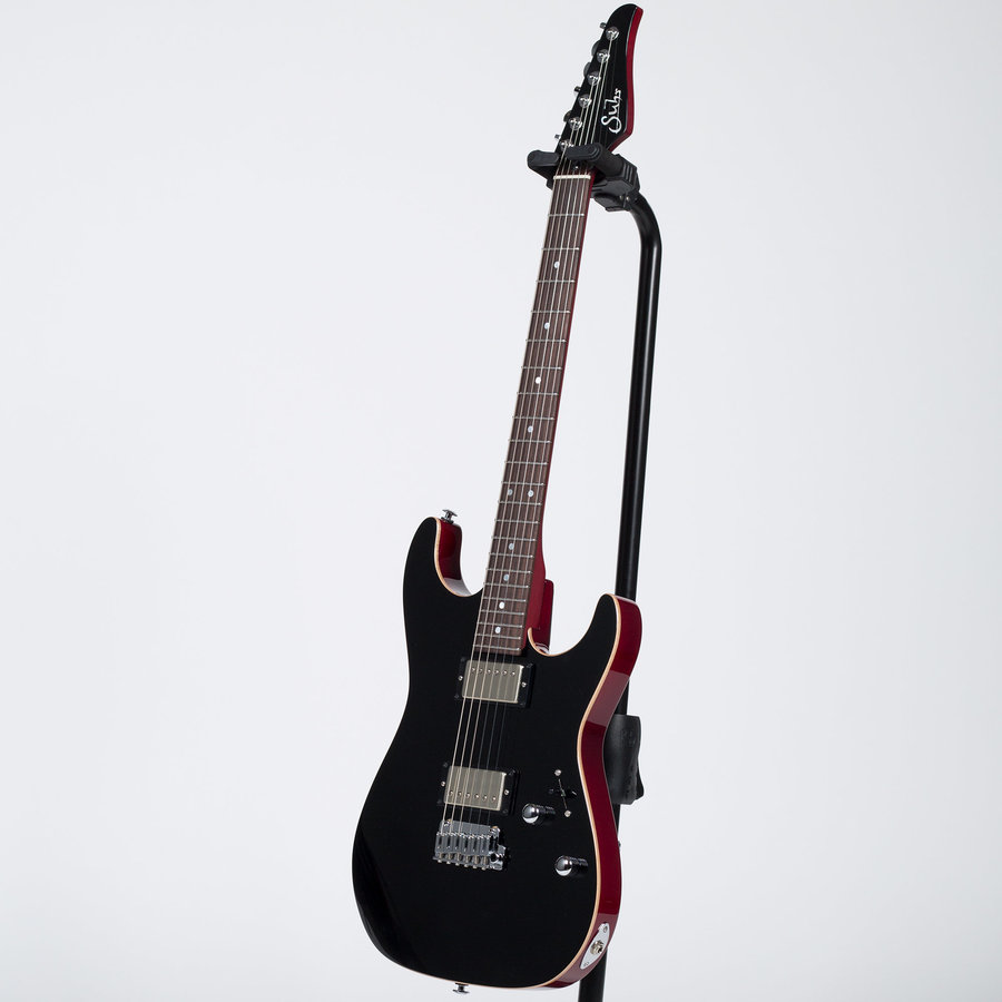 View larger image of Suhr Pete Thorn Signature Electric Guitar - Genuine Mahogany, Black
