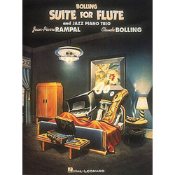 Suite for Flute and Jazz Piano Trio (Bolling) - Score & Parts
