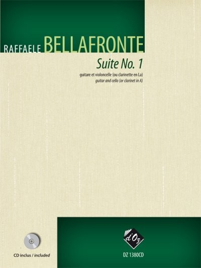 View larger image of Suite No. 1 w/CD (Bellafronte) - Guitar & Cello Duet