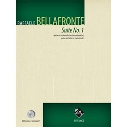 Suite No. 1 w/CD (Bellafronte) - Guitar & Cello Duet
