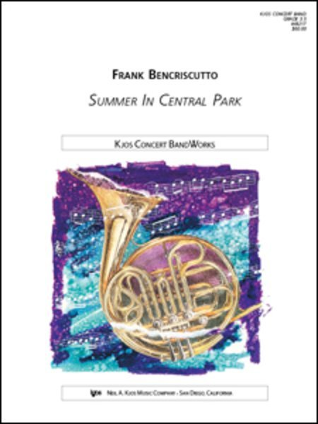 View larger image of Summer In Central Park - Score & Parts, Grade 4