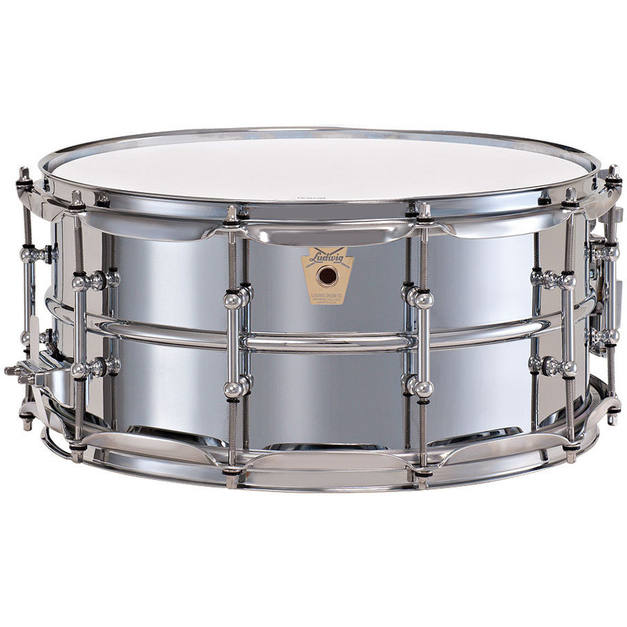 View larger image of Supraphonic Snare Drum - 6.5x14, Chrome Plated Aluminum