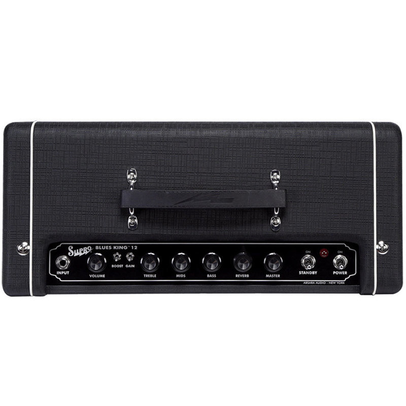 View larger image of Supro Blues King 12 Tube Guitar Combo Amp