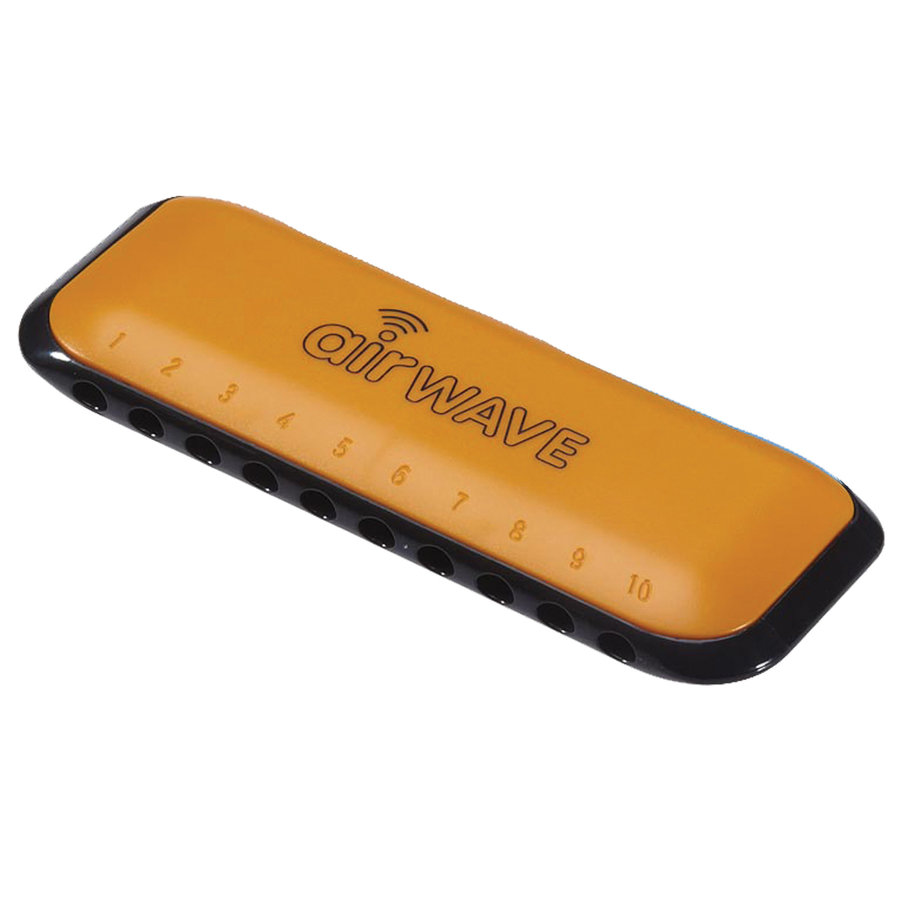 View larger image of Suzuki Airwave Kids Harmonica - 10 Hole Diatonic - Orange