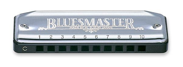 View larger image of Suzuki BluesMaster 10-Hole Diatonic Harmonica - Bb