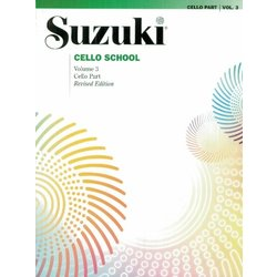 Suzuki Cello School - Vol 3 (International Edition) - Cello Part