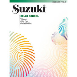 Suzuki Cello School Vol 4 (International Edition) - Cello Part