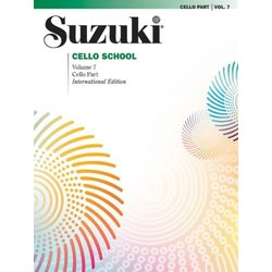 Suzuki Cello School Vol.7 (International Edition) - Cello Part