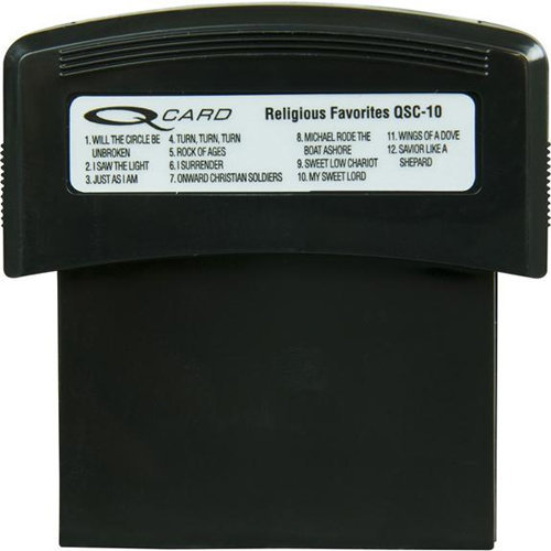 View larger image of Suzuki Qchord Style Cartridge - Religious Favorites