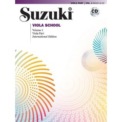 Suzuki Viola School - Volume 1 - Viola Part & CD - International Edition