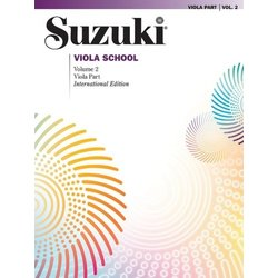 Suzuki Viola School - Volume 2 - Viola Part - International Edition
