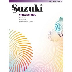 Suzuki Viola School - Volume 3 - Viola Part - International Edition