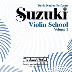 Suzuki Violin School - Volume 1 - Performance/Accompaniment CD