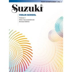 Suzuki Violin School - Volume 1 - Piano Accompaniment