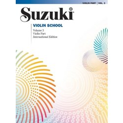 Suzuki Violin School - Volume 3 - International Edition