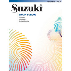Suzuki Violin School - Volume 4 - Violin Part - International Edition