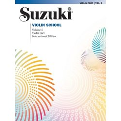 Suzuki Violin School - Volume 5 - Violin Part - International Edition