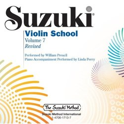 Suzuki Violin School - Volume 7 - Performance/Accompaniment CD