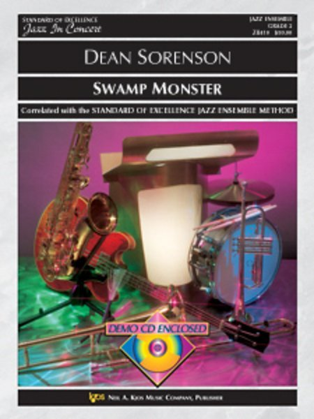 View larger image of Swamp Monster - Score & Parts, Grade 2