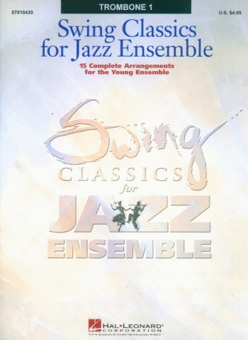 View larger image of Swing Classics for Jazz Ensemble - Trombone 1