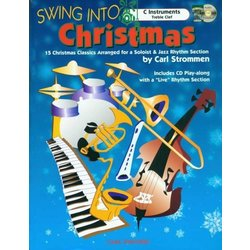 Swing Into Christmas - C Instruments - Bk/CD