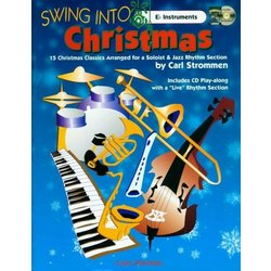 Swing Into Christmas - E Flat Instruments - Bk/CD