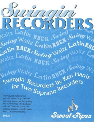 View larger image of Swingin' Recorders for Two Soprano Recorders