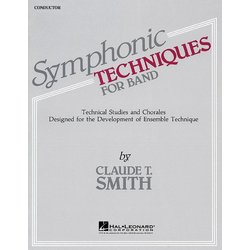 Symphonic Techniques For Band - Conductor