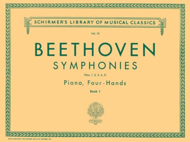 View larger image of Symphonies (Beethoven) - Book 1 (1-5) (1P4H)