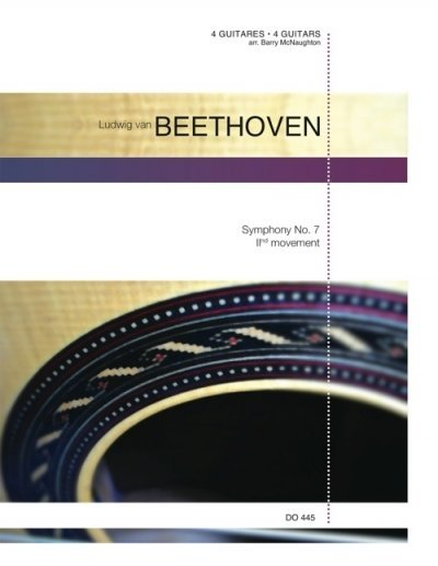 View larger image of Symphony No. 7, IInd Movement (Beethoven) - Guitar Quartet