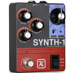 Synth-1 Reverse Attack Fuzz Wave Generator Pedal