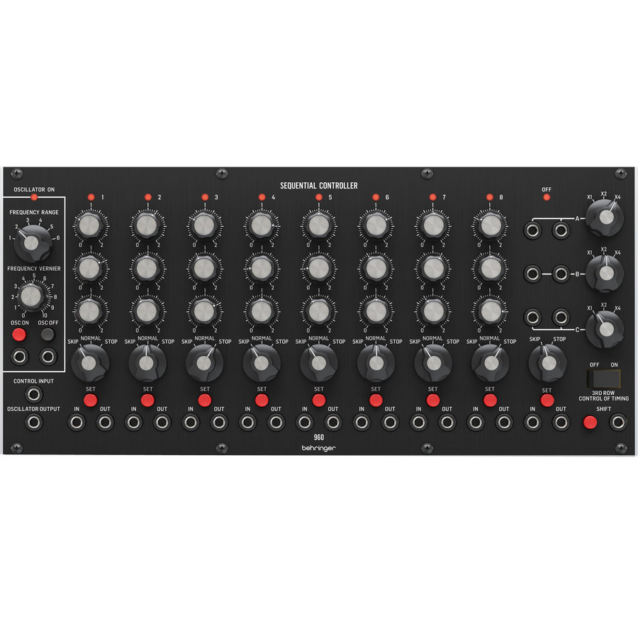 View larger image of Behringer 960 Sequential Analog Step Sequencer Eurorack Module