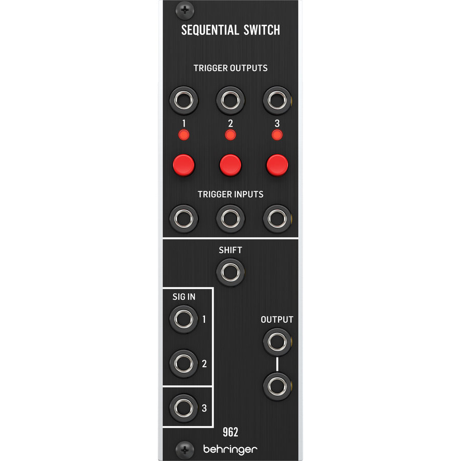 View larger image of Behringer 962 Sequential Switch Legendary Analog CV Multiplexer Module for Eurorack