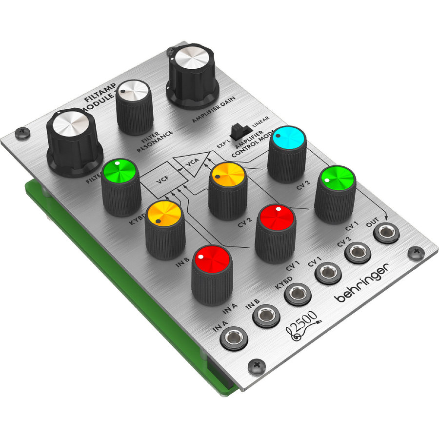 View larger image of Behringer Filtamp Module 1600 Low-Pass VCF and VCA Module for Eurorack