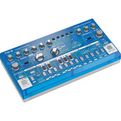 Behringer TD-3-BB Analog Bass Line Synthesizer - Baby Blue